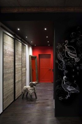 Industrial style loft in Kiev artfully blends drama and light