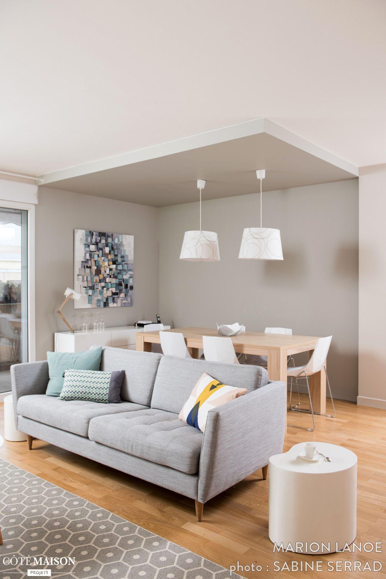 R Novation Compl Te De L Entr E Et De La Pi Ce Vivre De Cet  # Living Salon Bois Emplacement Tv