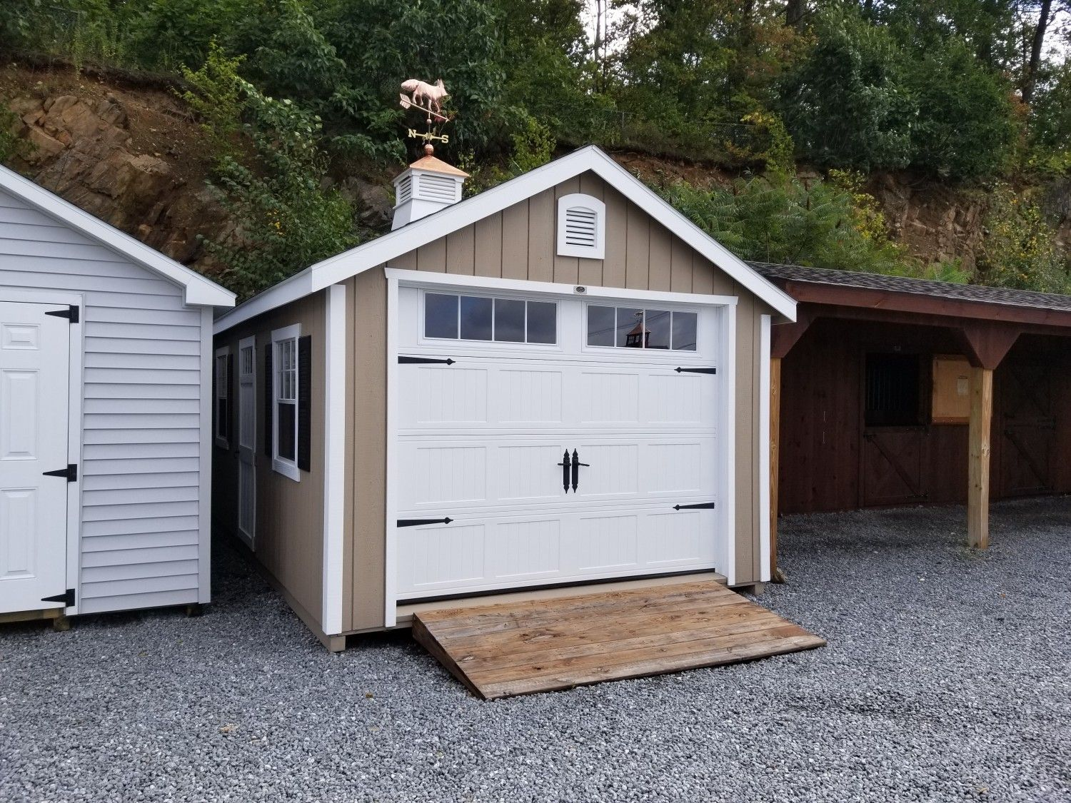 12x20 Classic Cape Garage: In-Stock Sheds, Storage Buildings