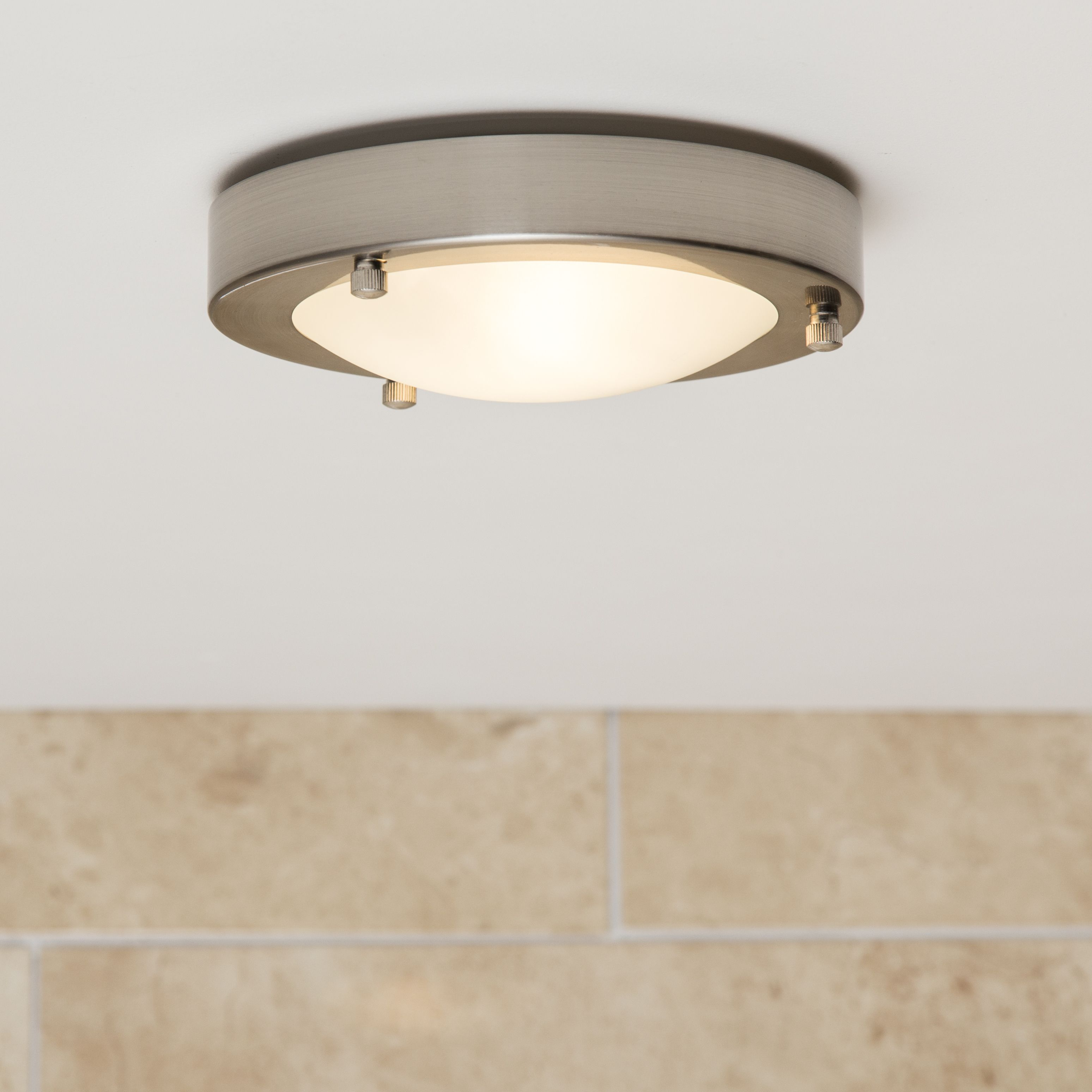 Forum Canis Small Flush Fitting Bathroom Light Bathroom Lighting