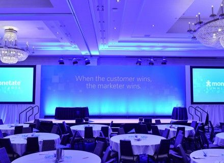 Conference Stage Design Corporate Event Branding