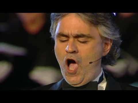 Youtube Video Andrea Bocelli Hq Funiculi Funicula Set To