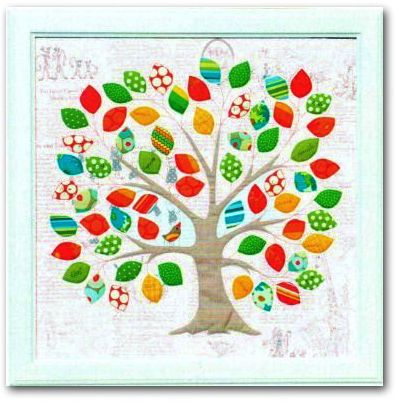 Memories Applique Wall Hanging Pillow Patterns By Kellie
