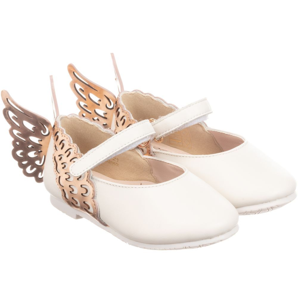 white shoes from Sophia Webster Mini