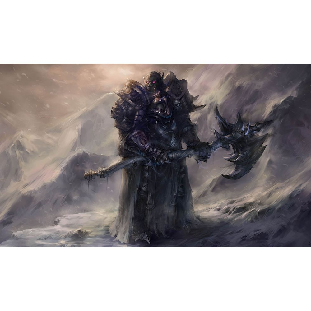 Best Quality Mm Thick Table Pad Game Fantasy Death Knight Playmat - Thick table pad