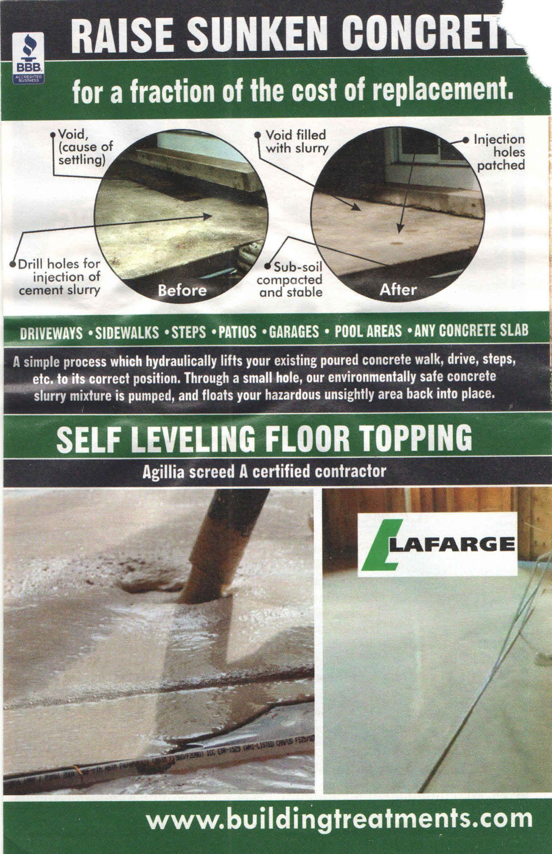 Garage Floor Repair Patch Hole Pool Area Garage Floor