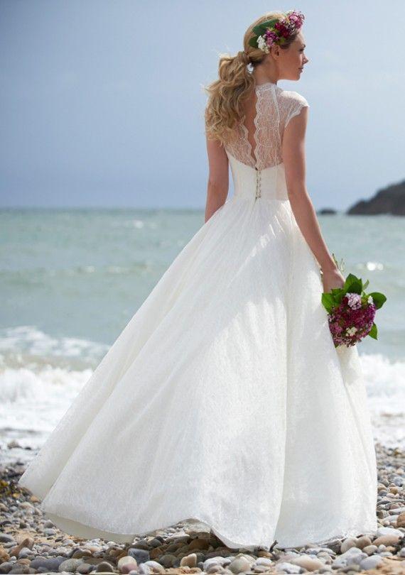 Stephanie Allin London Designer Wedding Dress Wales Misty   LA Robe ...