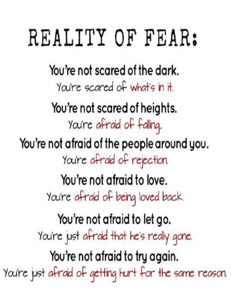 Fear Quotes Fear Quotes – Quotes about Fear | quotes | Fear quotes, Quotes  Fear Quotes