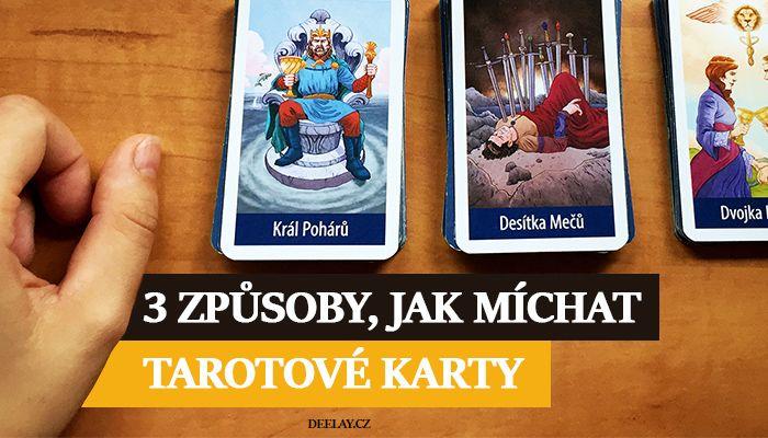 Jak Michat A Tahat Tarotove Karty Jak Michat Tarotove Karty Tarot
