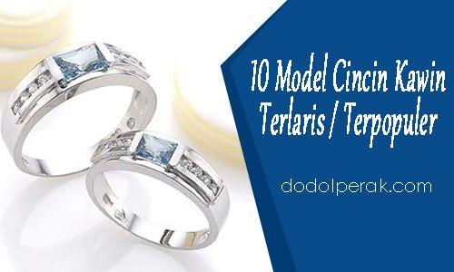 10 Gambar Model Cincin Kawin Terlaris / Terpopuler