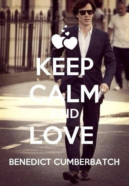 How can you keep calm? Seriously, if you know how please teach me... Because i just CAN'T KEEP CALM with HIM!