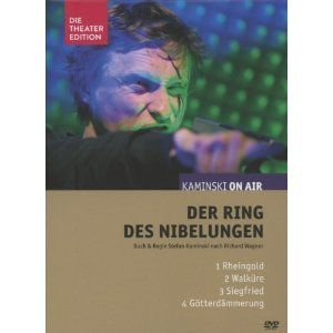 DVD-Box mit sämtlichen vier Teilen von »Der Ring des Nibelungen« von und mit Kaminski ON AIR  http://www.amazon.de/dp/B00B2KW186