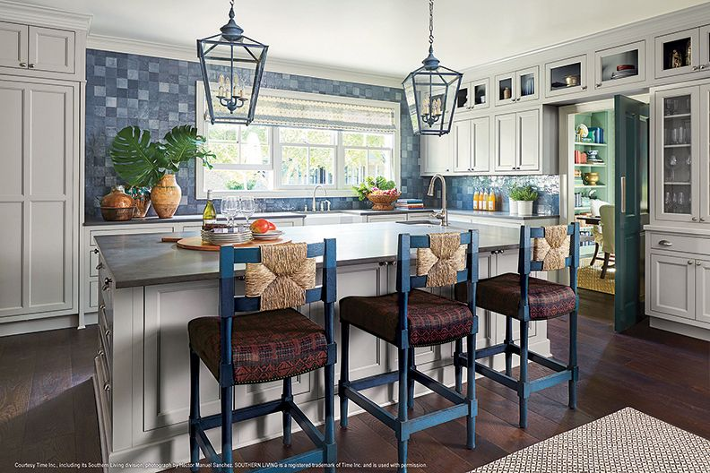 This 2018 Southern Living kitchen is all the rage. Again