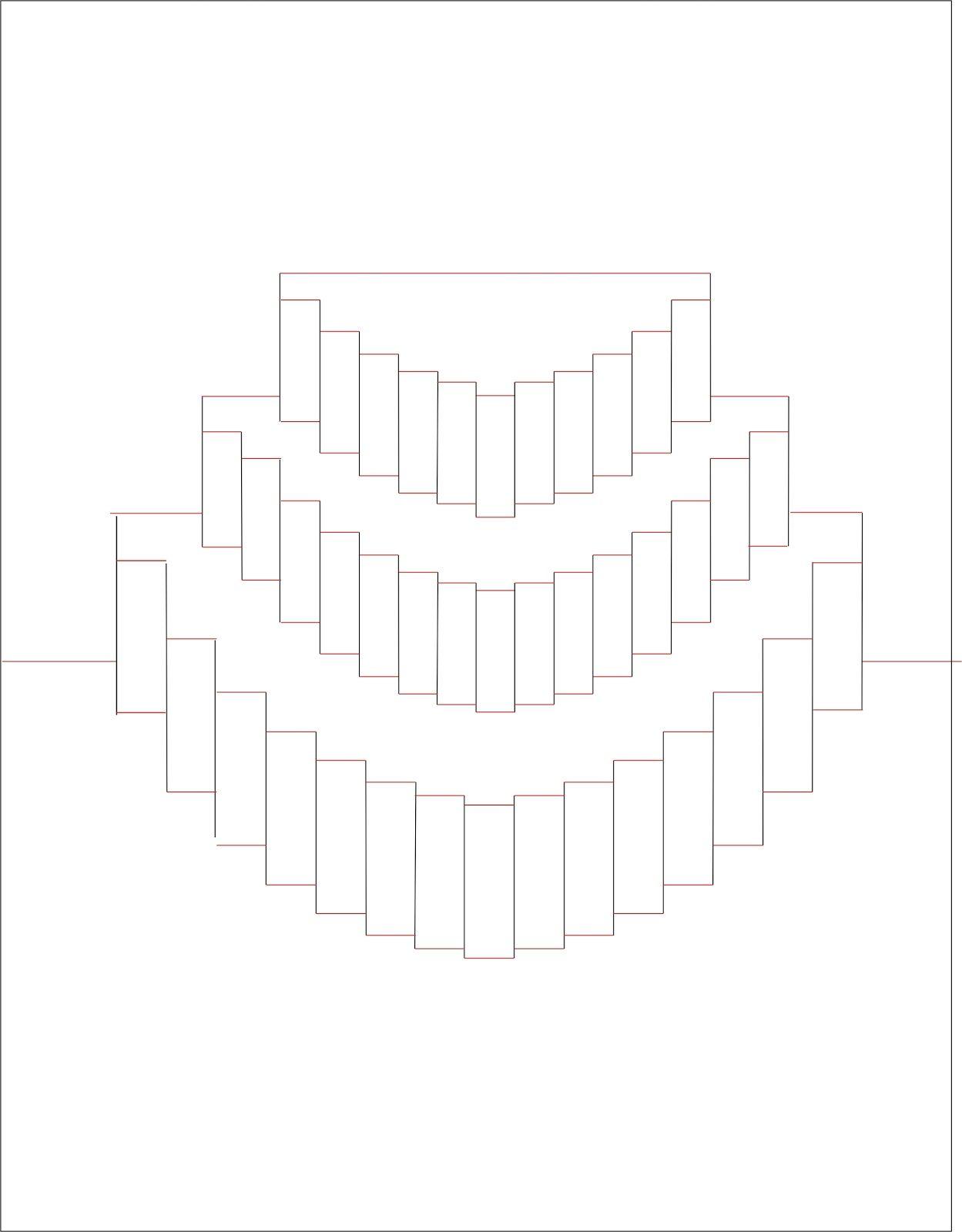 киригами открытка торт схема как сделать высококвалифицированных