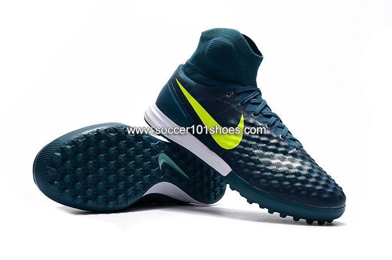 ddacd9659 Nike Men s Magistax Proximo II TF Turf Soccer Football Shoe Dark Green   74.00