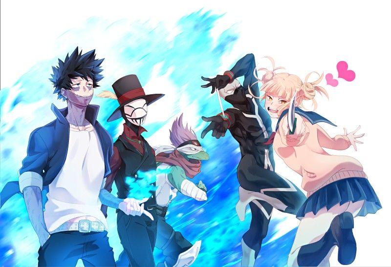 League Of Villains Boku No Hero Academia Bnha Mha My Hero Hero My Hero Academia