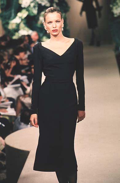 Yves Saint Laurent - Haute Couture - Fall / Winter 1998   Esther Cañadas