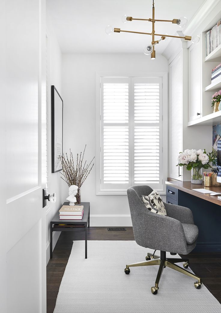 Vanessa Francis Design // Home Office, Clean Modern Office, Office  Inspiration, Minimalistic