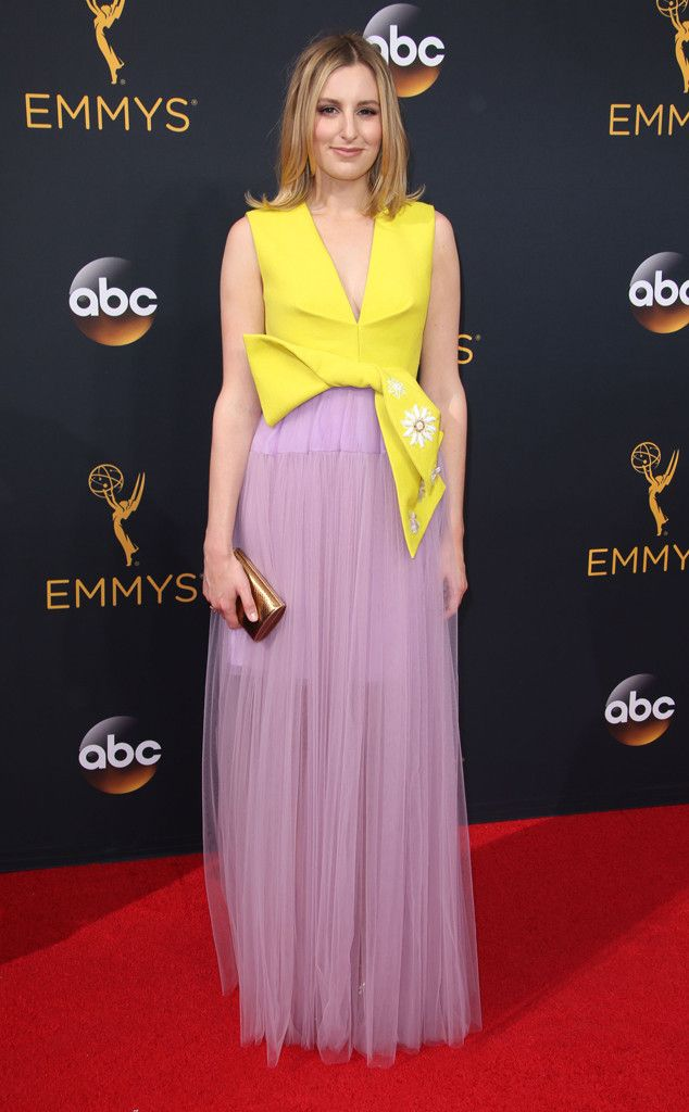 Laura Carmichael from 2016 Emmys Red Carpet Arrivals