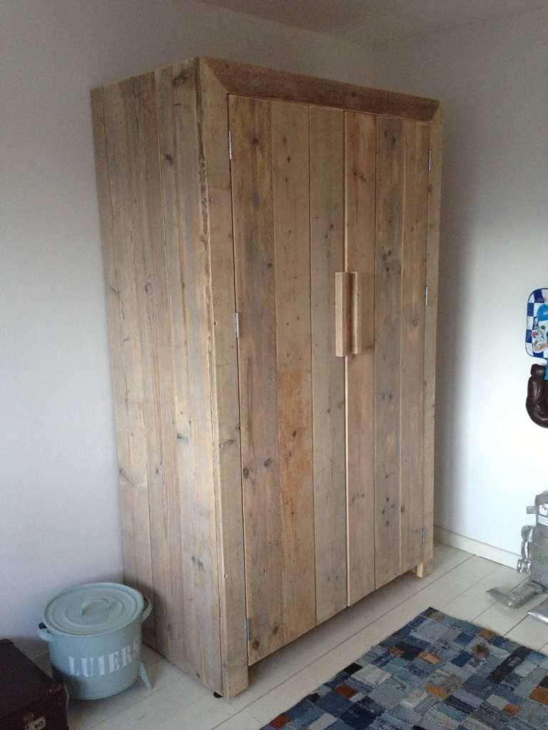 Steigerhout Kast Sindre Steigerhout Furniture Unieke