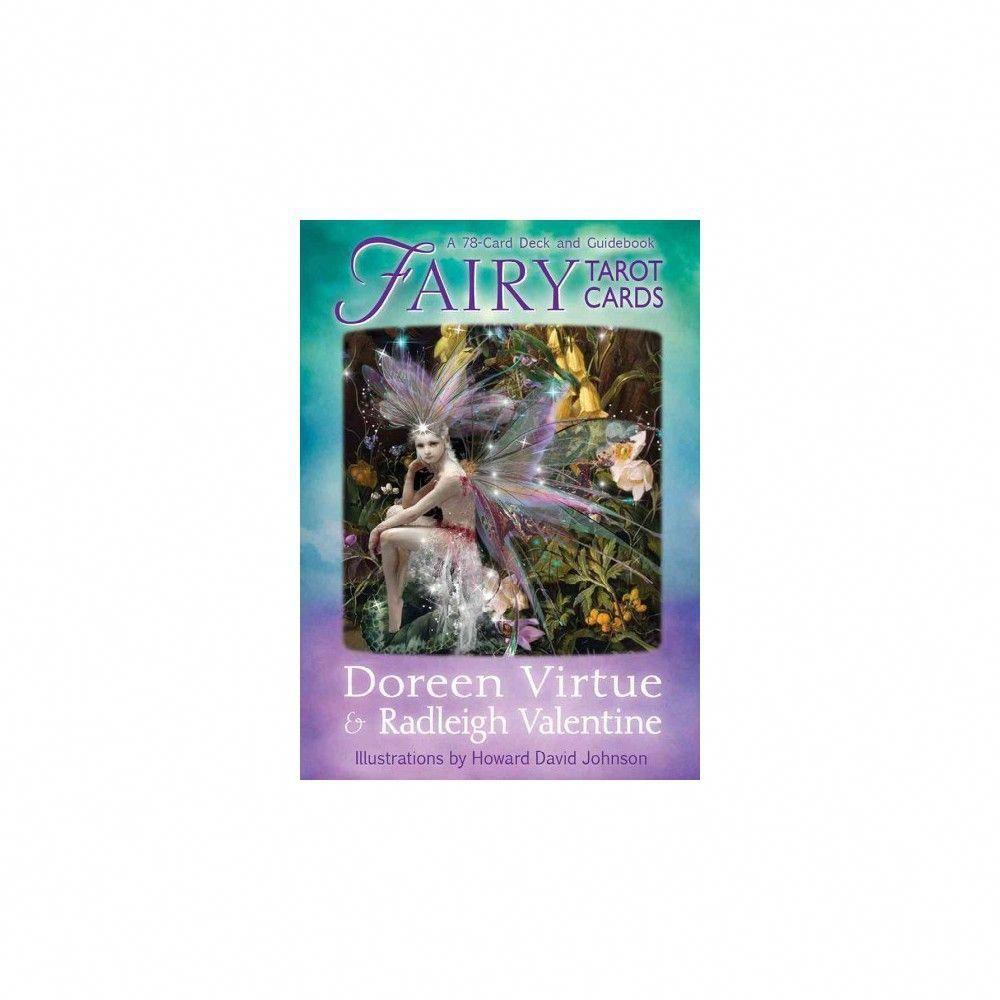 Fairy tarot cards mixed media product