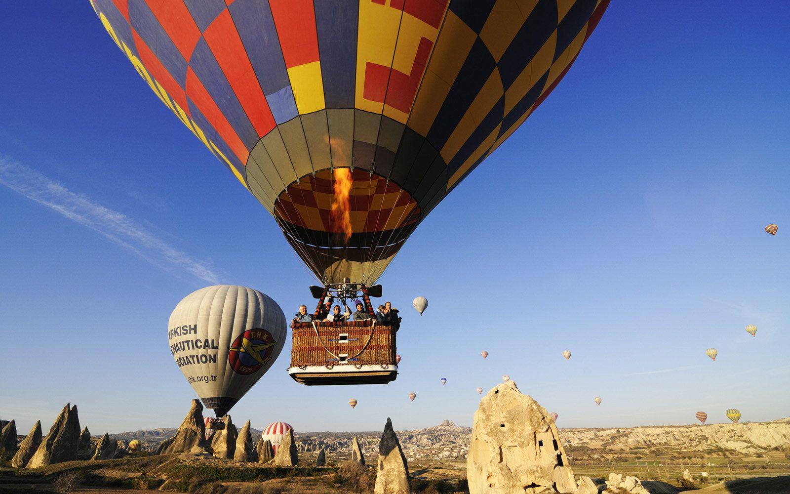 2020的Cappadocia Hot Air Balloon Flight