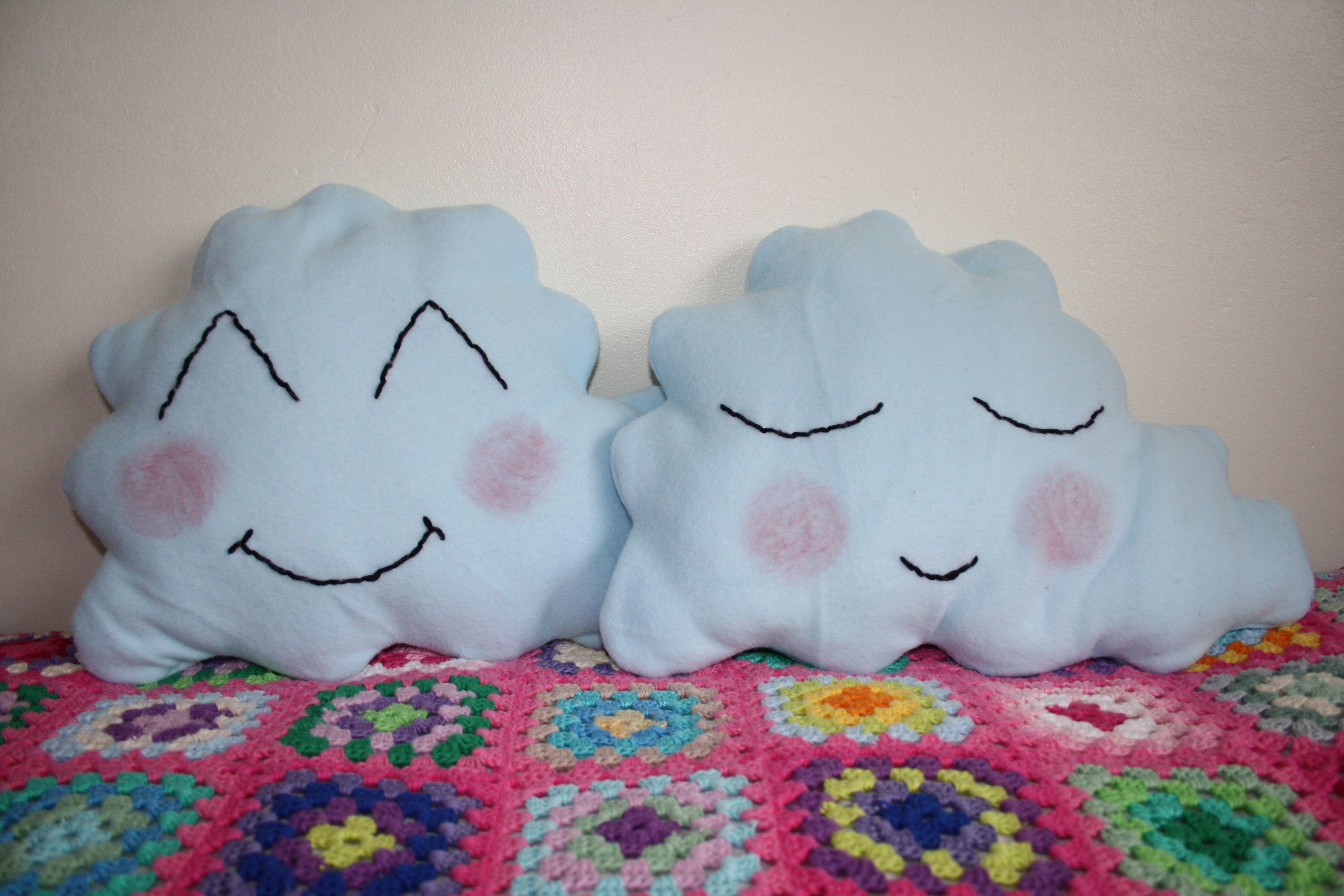 Cloud cushions £5 each