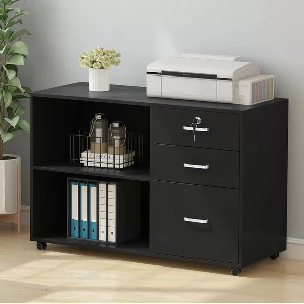 Madewell 3 Drawer Lateral Filing Cabinet Filing Cabinet Cabinet