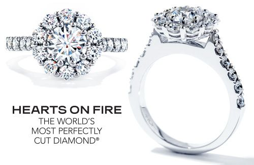Hearts on Fire diamond from Leo Hamel.. yes