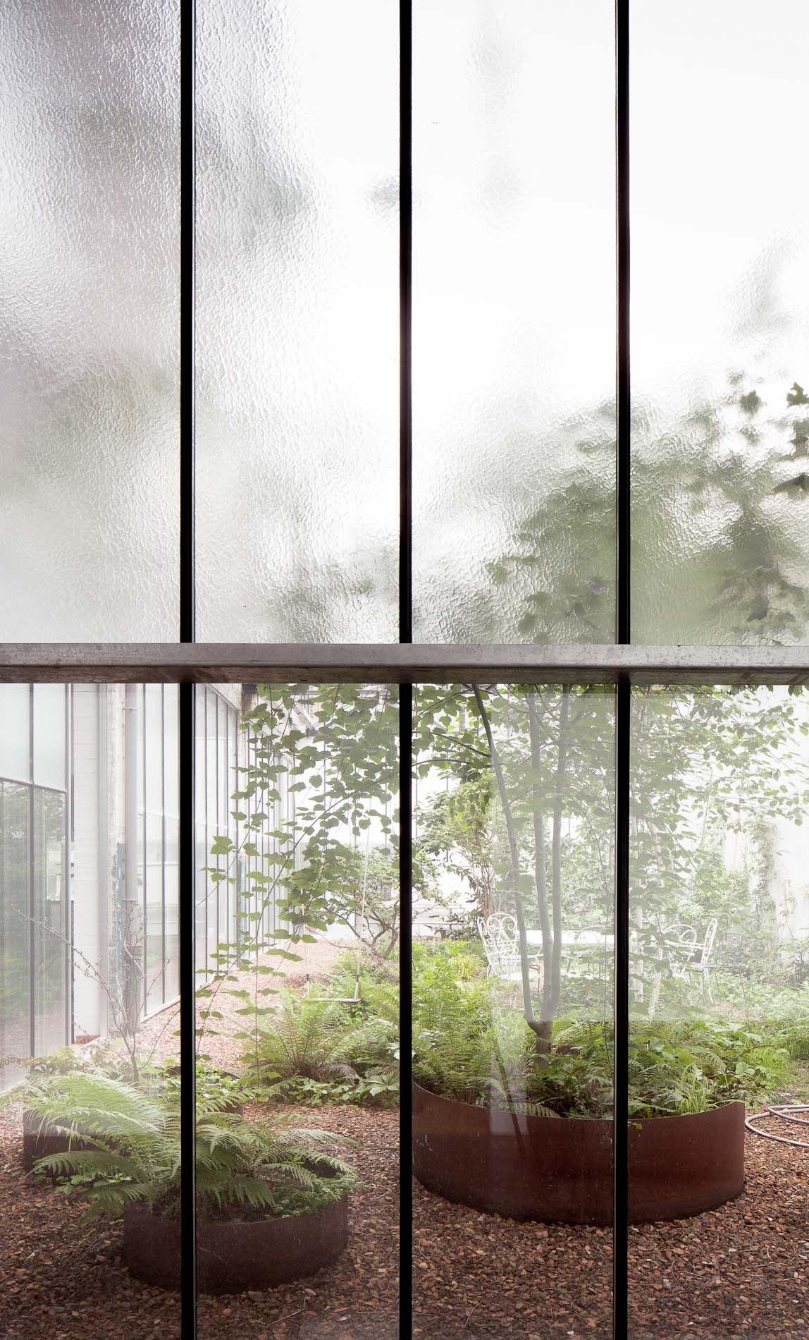 Noa Architects Office And Garden Frederik Vercruysse Photographer Landscape Design Garden Architecture Modern Garden