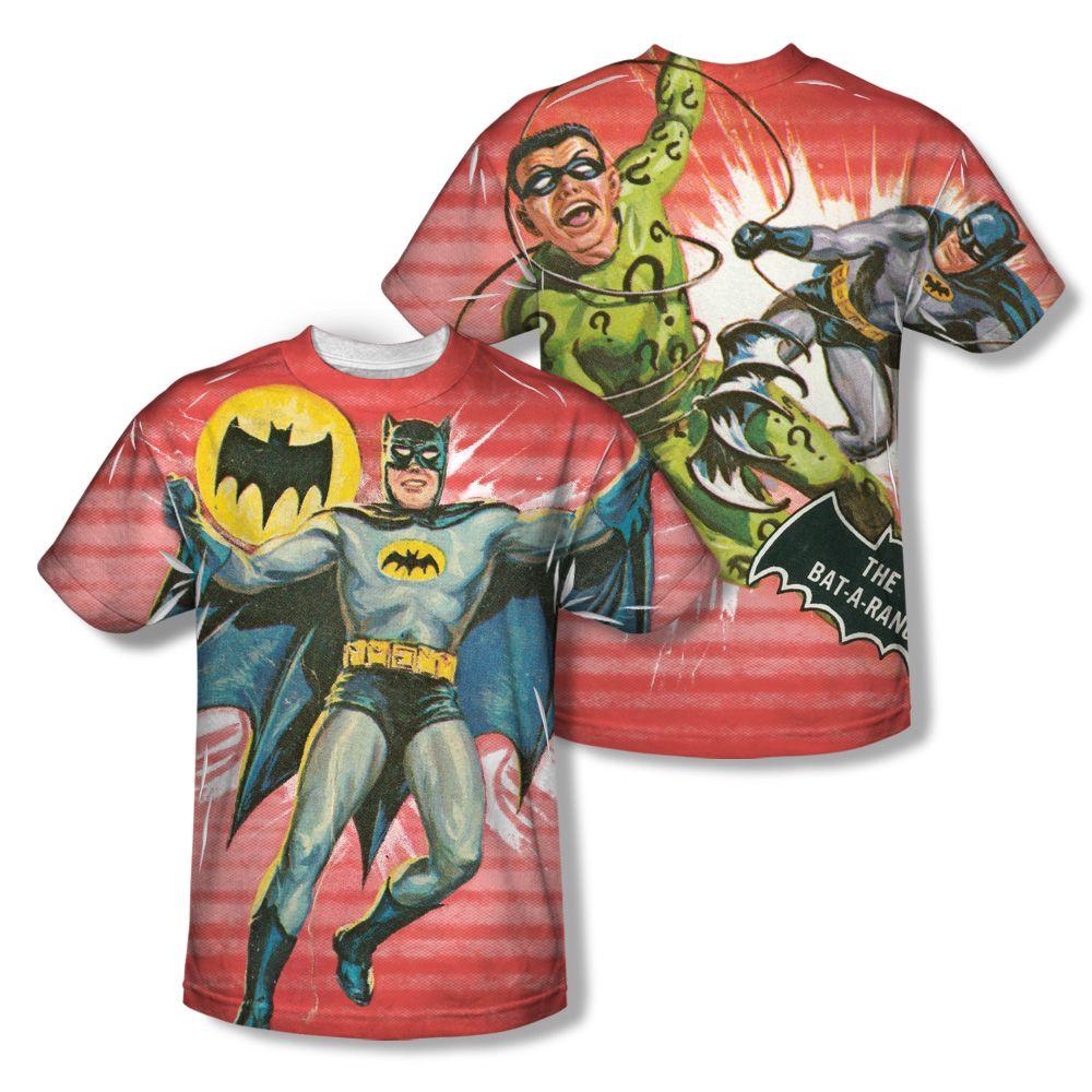 Batman Dc Comics Classic Tv Show Costume Front Only Sublimation Print T-Shirt