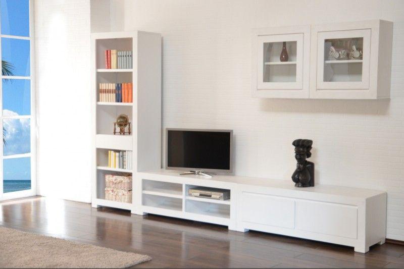 Elegant Wohnwand Tecky U2013 Akazie Massiv U2013 Weiß Bei Moebelkultura Bestellen. Möbel  Direkt Vom Hersteller, Versand Und Trusted Shops Zertifiziert. Idea