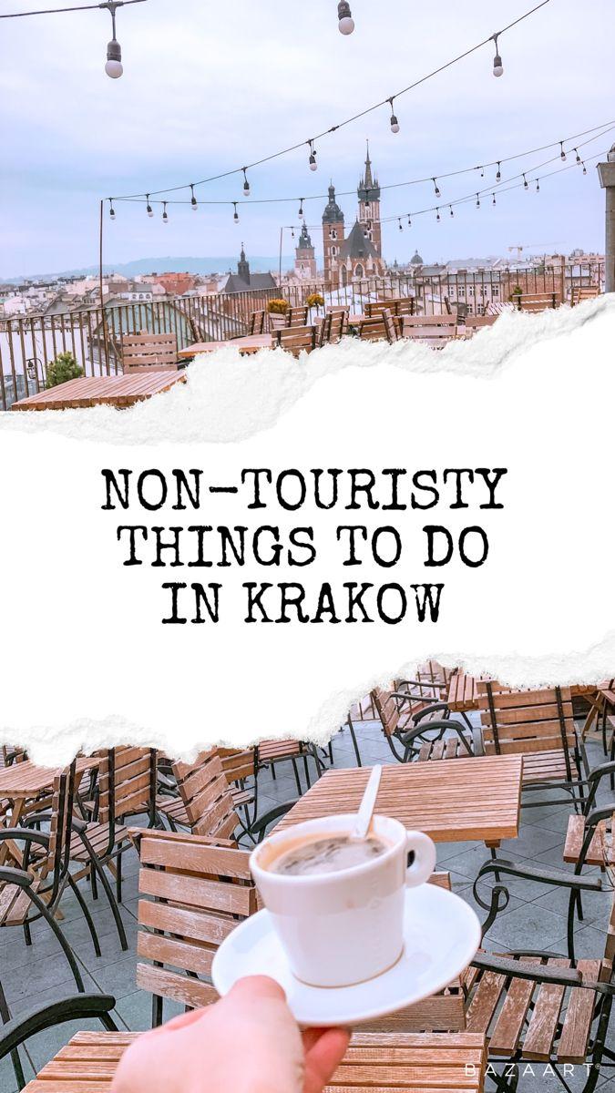 Top 5 non-touristy things to do in Krakow. #thingstodoinkrakow