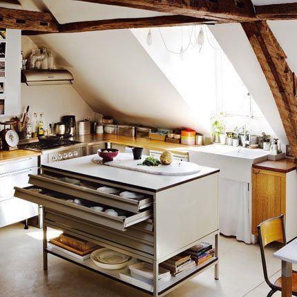 Rénover des poutres apparentes future salle à manger Pinterest