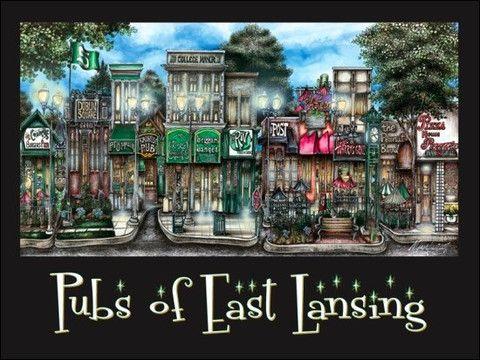 Pubs of East Lansing! Explore Greater Lansing #Fun #Bars http://www.lansing.org/visitor/restaurants/