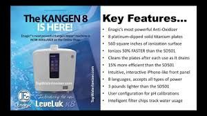 Our New K8 Machine Was Added To Our Collection This Year It Offers 8 Plates And A Higher Orp Oxidation Kangen Water Machine Kangen Water Kangen Water System
