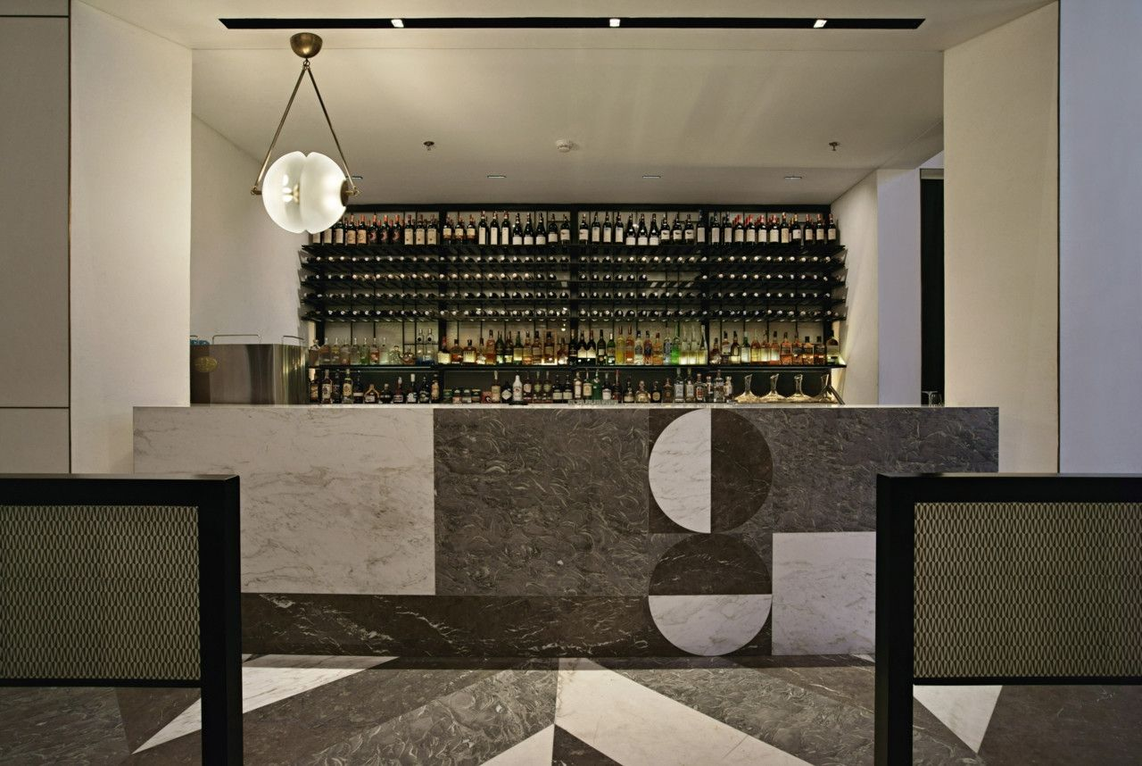 Interior Architecture Gia Restaurant And Whisky Bar In Jakarta The Space Is Divided Into A Main