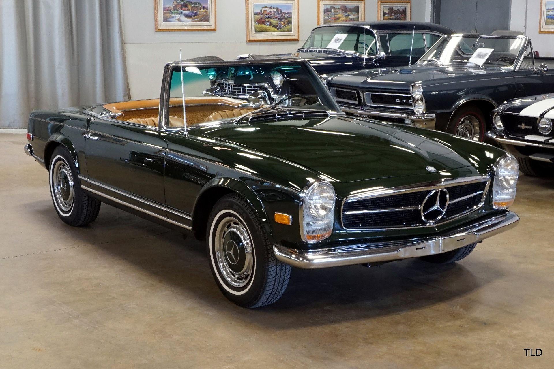 1968 Mercedes Benz Sl Pagode Classic Driver Market Mercedes