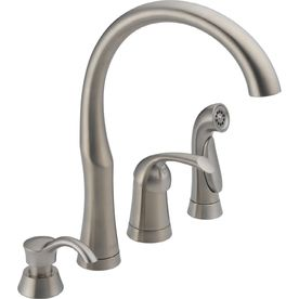 Delta Bellini Stainless 1Handle HighArc Kitchen Faucet