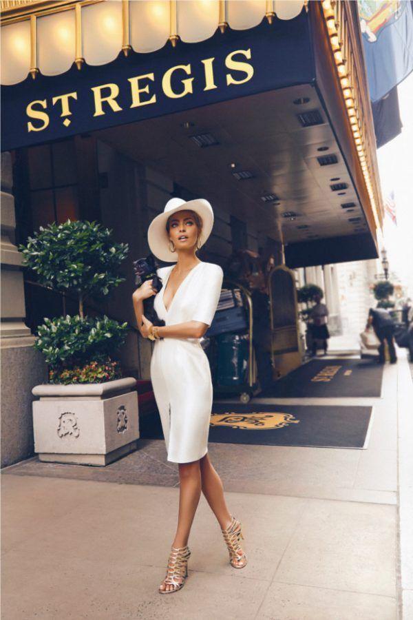 be a lady ❤ #elegance #classy #elegantoutfit #whitemididress  #fashion #womensfashion #classyfashion