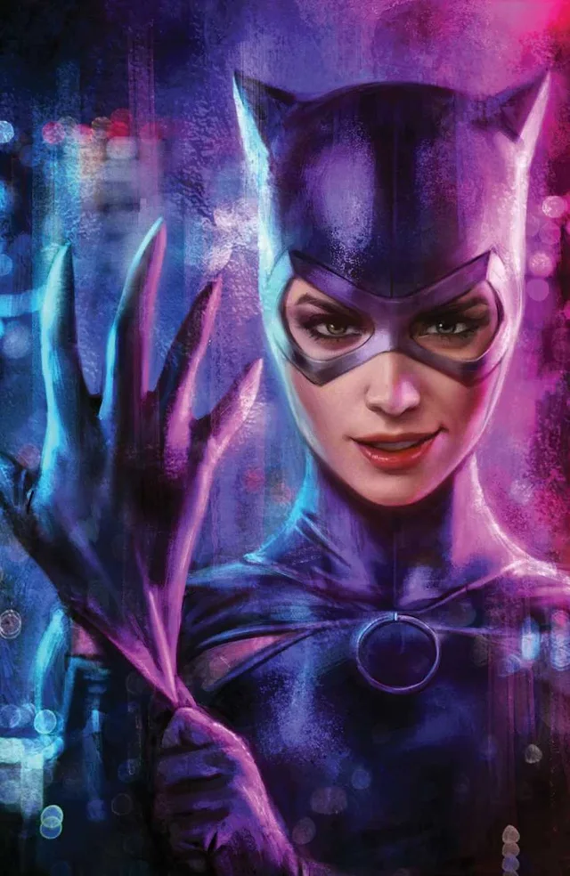 [Cover] Catwoman 19 Textless Variant Cover by Ian