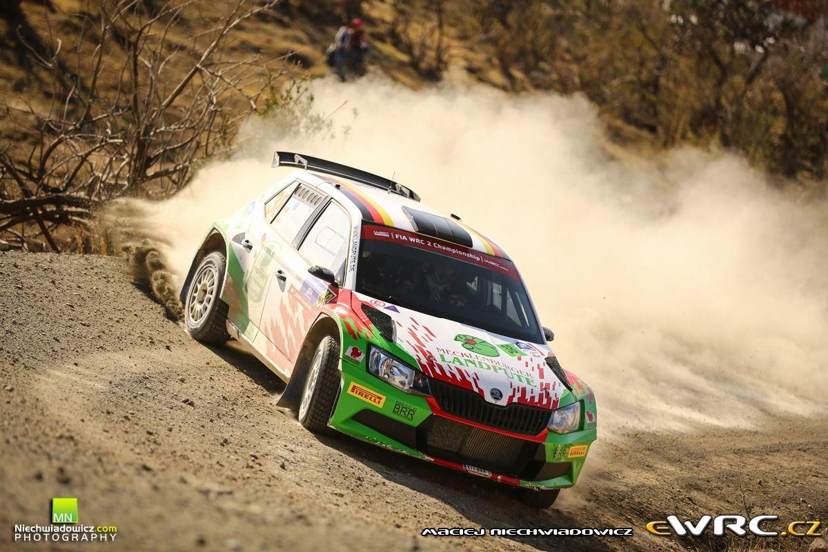 Armin Kremer, Pirmin Winklhofer; Škoda Fabia R5;  Rally Guanajuato Mexico 2016