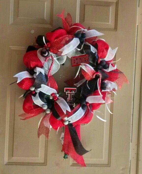 TexasTech Christmas wreath 11.20.14