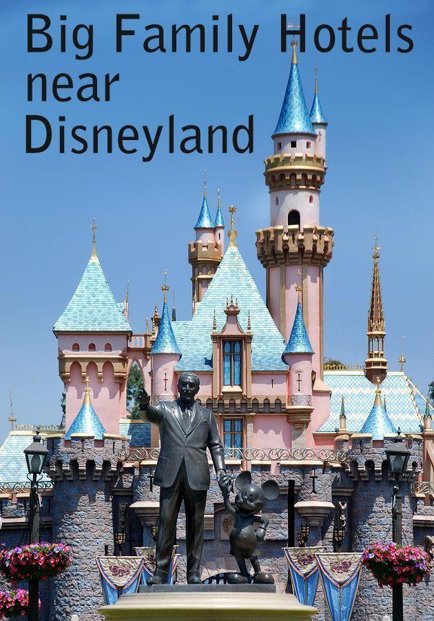 Disneyland Close Historic Calif Bungalow 9: Disneyland Big Family Hotels For 5, 6, 7, 8 In 2020
