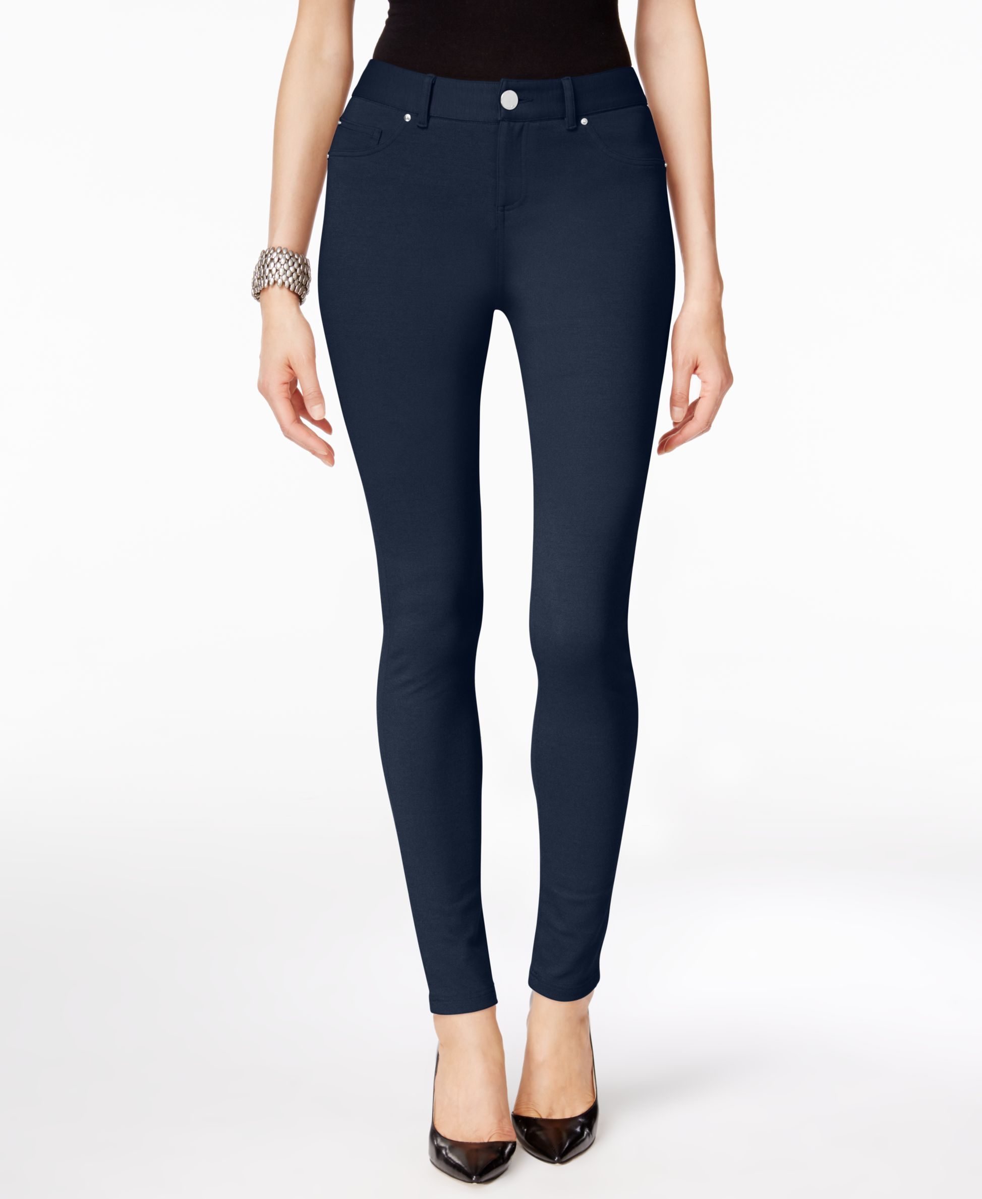Inc International Concepts Skinny-Fit Ponte Pants, Only at Macy's