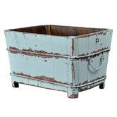 """Found it at Wayfair.ca - Square Sink with Iron Handles 13"""" $65"""