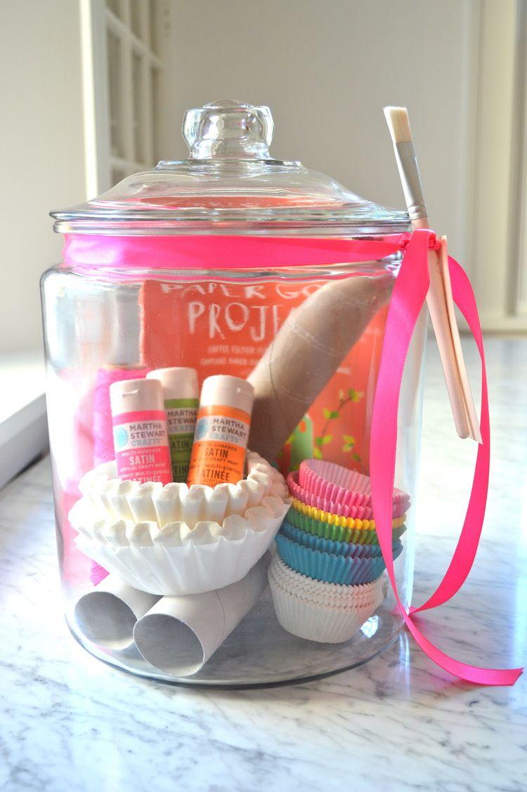 DIY Craft Kit Gift Jar