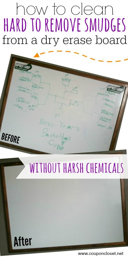 How To Clean A Dry Erase Board 2 Methods Without Harsh Chemicals Clean Dry Erase Board Dry Erase Dry Erase Board