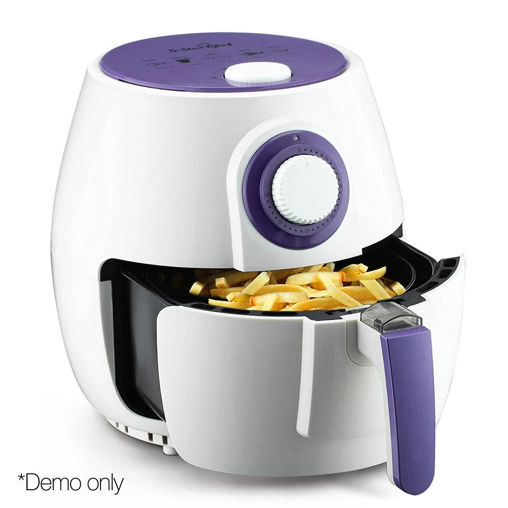 Devanit Oil Free 4L 1300W Air Fryer White in 2020 Air
