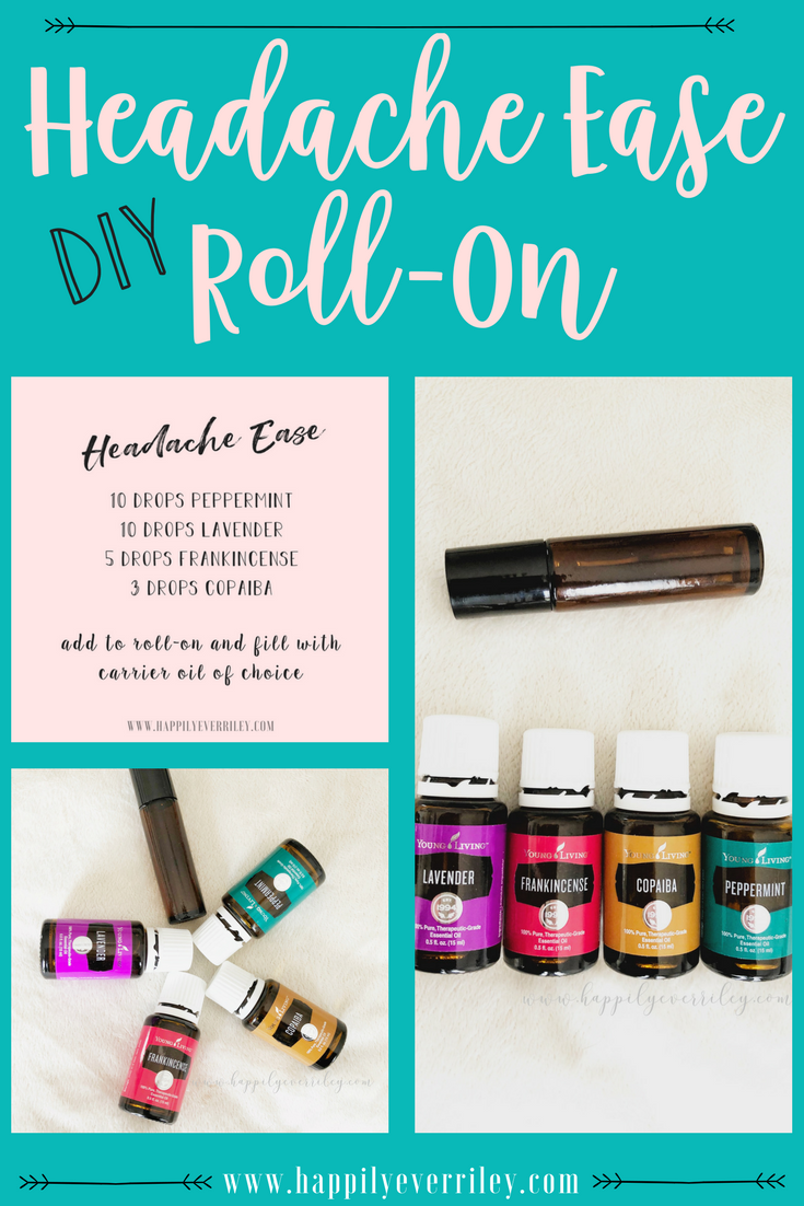 Natural Headache Relief Roll On Essential Oils For Migraines Essential Oil Roller Bottle Recipes Living Essentials Oils